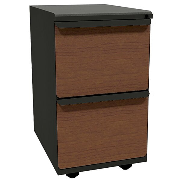 Zapf 2-Drawer Mobile Pedestal File Cabinet by Marvel Office Furniture