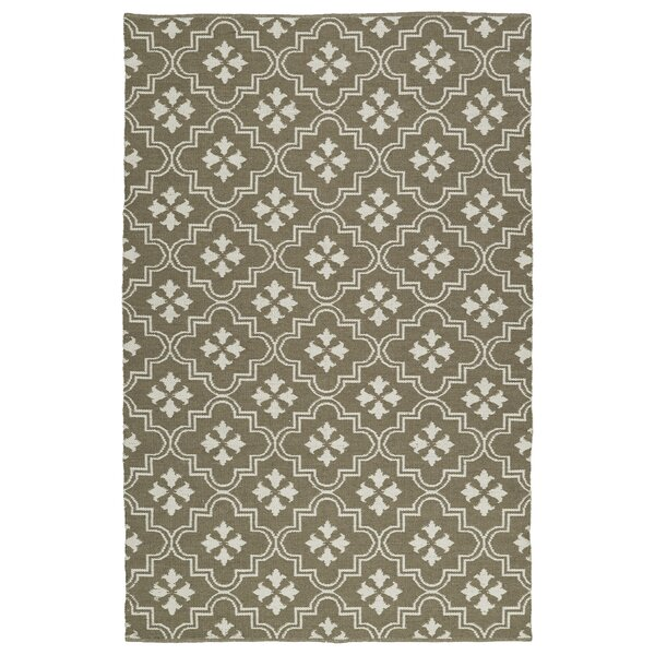 Covington Taupe/Cream Indoor/Outdoor Area Rug by Charlton Home
