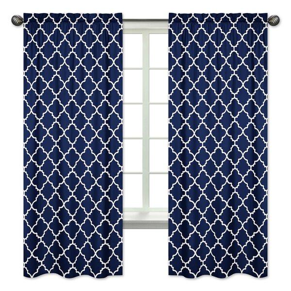 Trellis Window Curtain Panels (Set of 2) by Sweet Jojo Designs