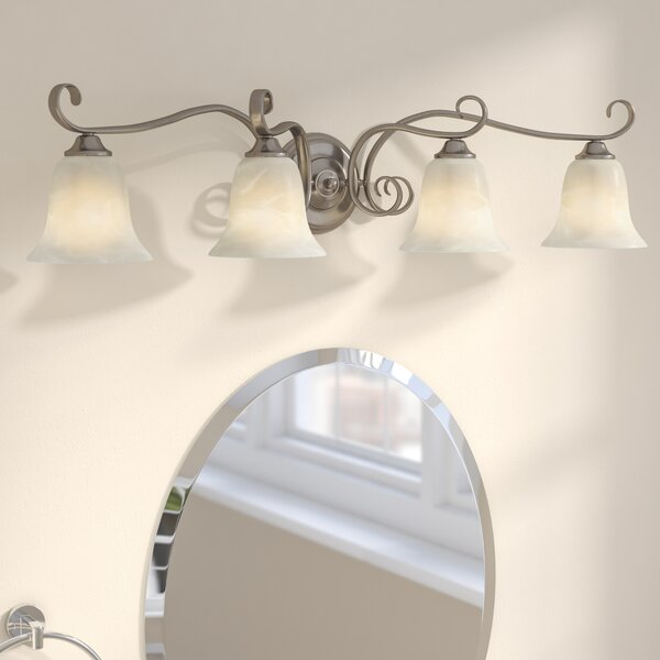 Patricia 4-Light Vanity Light by Fleur De Lis Living