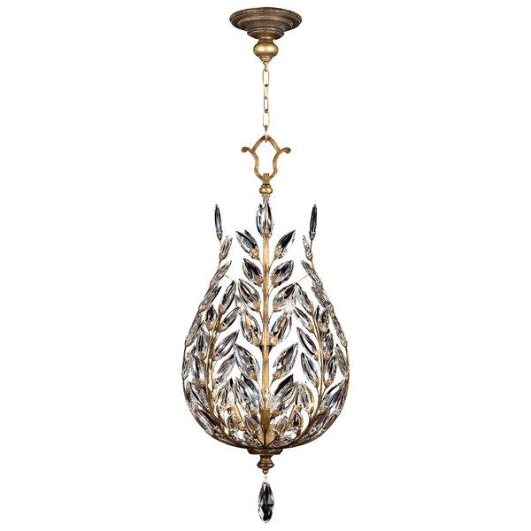 Crystal Laurel 6-Light Crystal Chandelier by Fine Art Lamps Fine Art Lamps