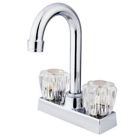 Vista Double Handle Kitchen Faucet by Kingston Brass
