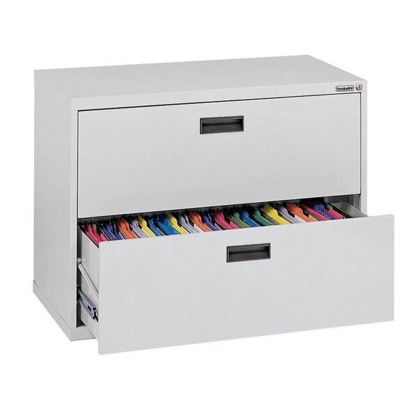 400 Series 2-Drawer Lateral Filing Cabinet by Sandusky Cabinets