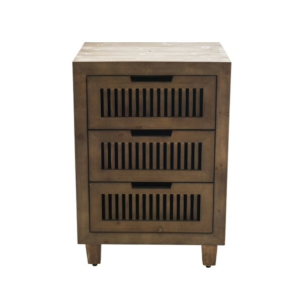 Amara 3 Drawer Accent Cabinet by Langley Street