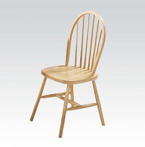 Osias Solid Wood Dining Chair (Set of 4) by August Grove