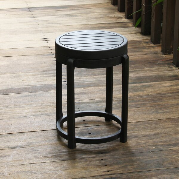 Fordyce Wooden Side Table by Andover Mills