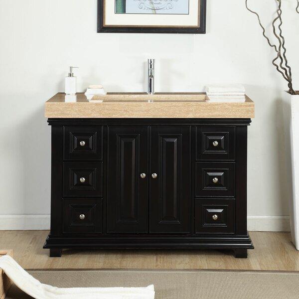 48 Single Integrated Bathroom Vanity Set by Bloomsbury Market