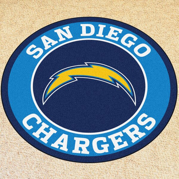NFL San Diego Chargers Roundel Mat by FANMATS