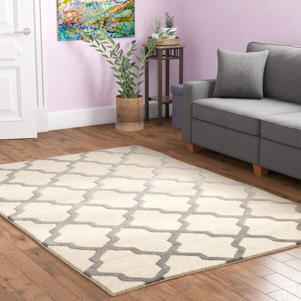 Charlenne Hand-Tufted Ivory Area Rug by Zipcode Design