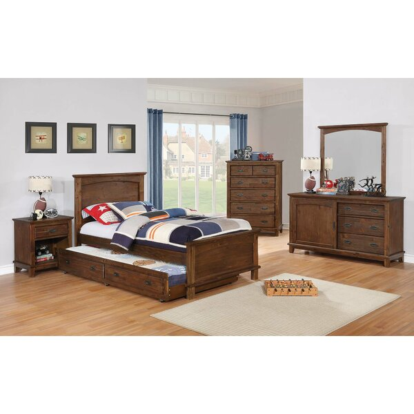 Keynsham Twin Panel Bed by Harriet Bee