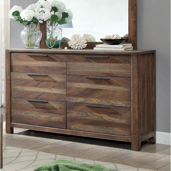 Alyssia 6 Drawer Double Dresser by Gracie Oaks