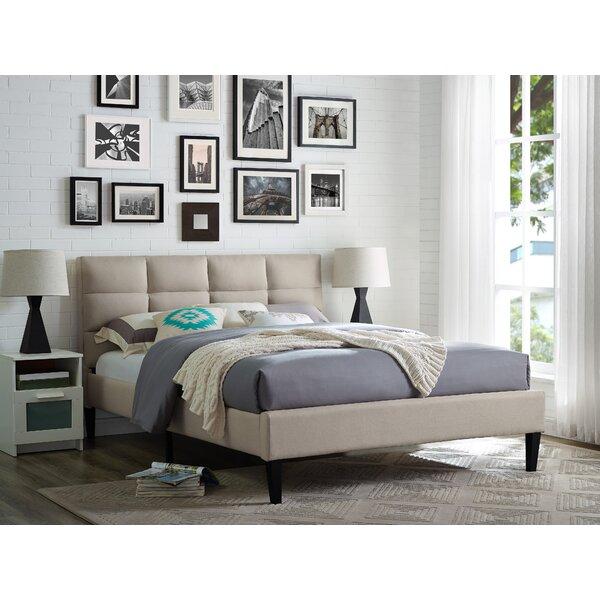 Francis Upholstered Platform Bed by Serta