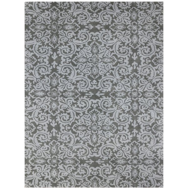 Kaydence Hand-Tufted Gray Indoor Area Rug by Ophelia & Co.