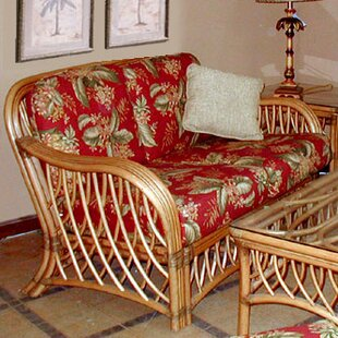 Montego Bay'' Loveseat By Spice Islands Wicker