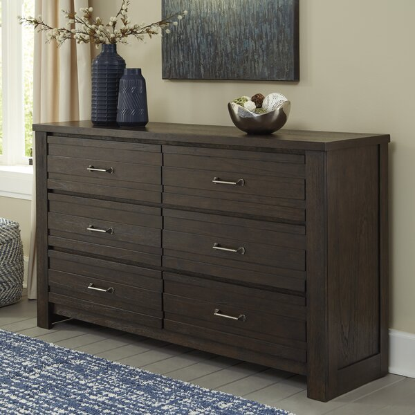 Heckstall 6 Drawer Double Dresser by Charlton Home