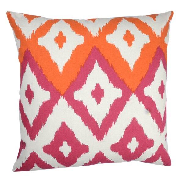 Del Mar Ikat Indoor/Outdoor Throw Pillow