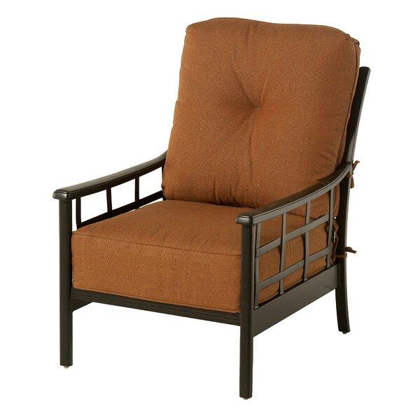 Merlyn Club Patio Chair by Fleur De Lis Living