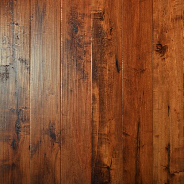 Farmhouse 7-1/2 Engineered Maple Hardwood Flooring in Prarie by Albero Valley