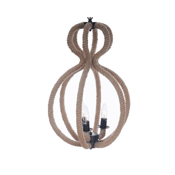 Southam 3 - Light Statement Geometric Chandelier By Longshore Tides