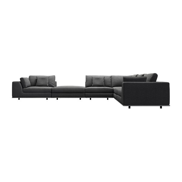 Syd Sectional with Ottoman by Orren Ellis