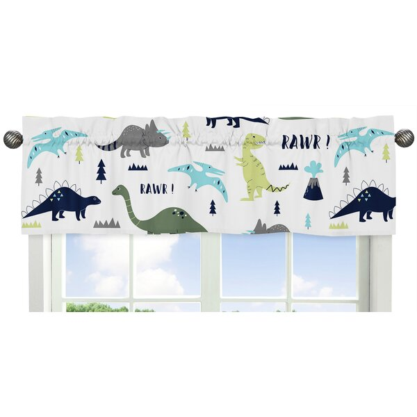 Mod Dinosaur 54 Window Valance by Sweet Jojo Designs