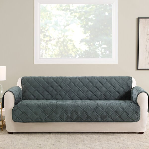 Triple Protection FC Box Cushion Sofa Slipcover By Sure Fit Sure Fit