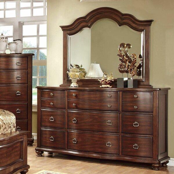 Fuson 12 Drawer Double Dresser by Astoria Grand