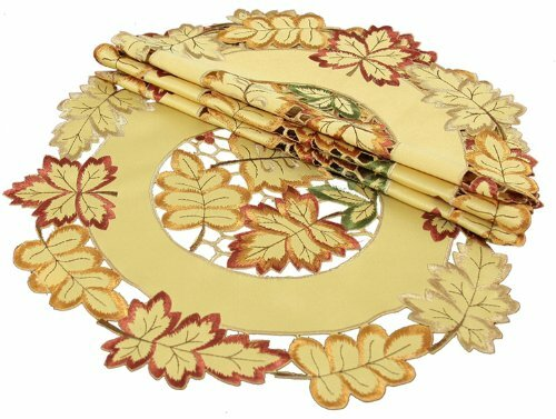 Wendling Embroidered Cutwork Harvest Placemat (Set of 4) by Astoria Grand