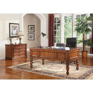 Gunnersbury 2 Piece Desk Office Suite by Astoria Grand