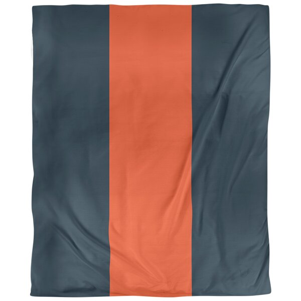 Chicago Throwback Arizona Football Stripes Single Duvet Cover
