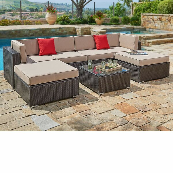 7 Piece Sofa Seating Group with Cushions by SUNCROWN