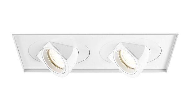 Tesla Invisible Multi-Spotlight LED Eyeball Recessed Trim by WAC Lighting