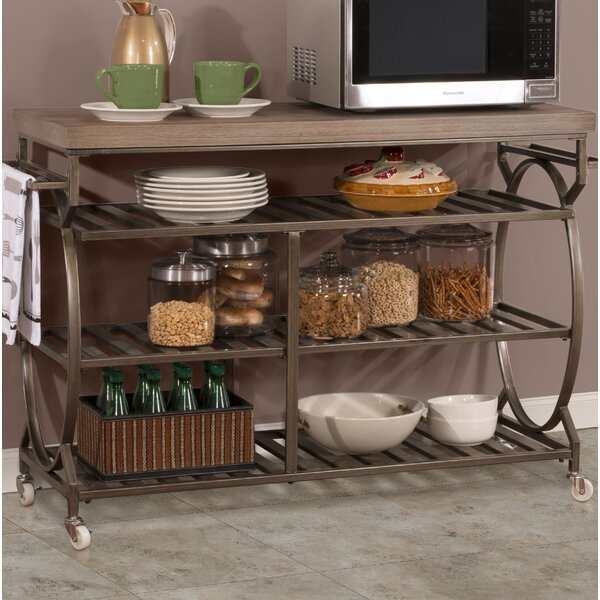 Trentelman Kitchen Cart by August Grove