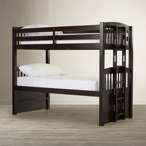Grier Hammond Twin over Twin Bunk Bed with Ladder by Viv + Rae