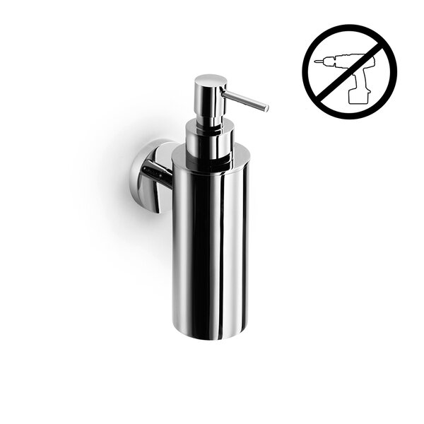 Duemila Self-Adhesive Wall Mount Soap Dispenser by WS Bath Collections