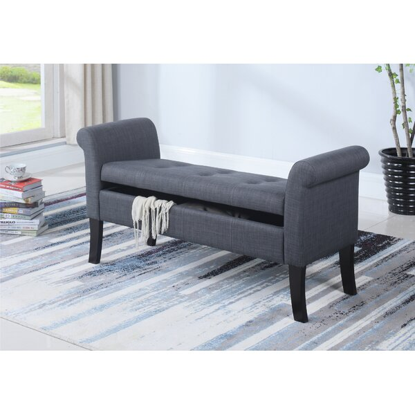 Flippo Upholstered Storage Bench By Darby Home Co