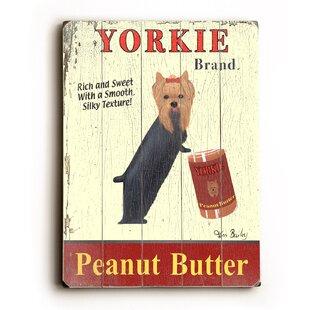 U0027Yorkie Peanut Butteru0027 Vintage Advertisement