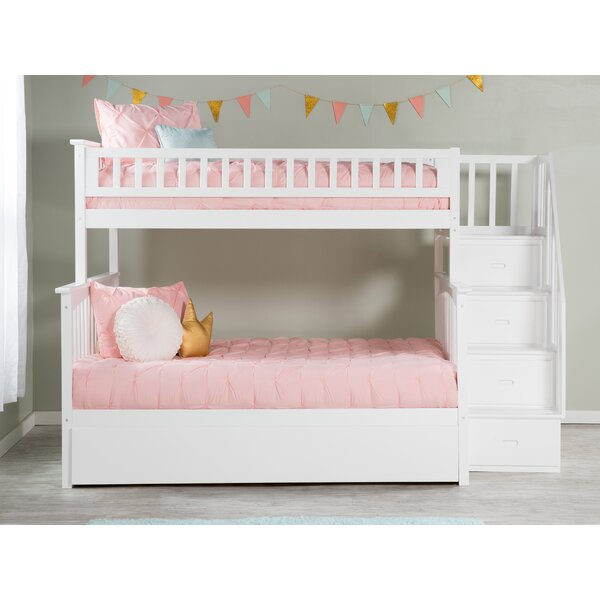 Abel Twin Over Full Bunk Bed by Harriet Bee