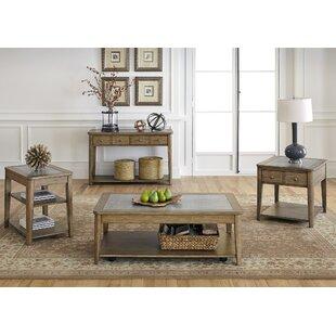 Jalynn 4 Piece Coffee Table Set  by AuGus Modern