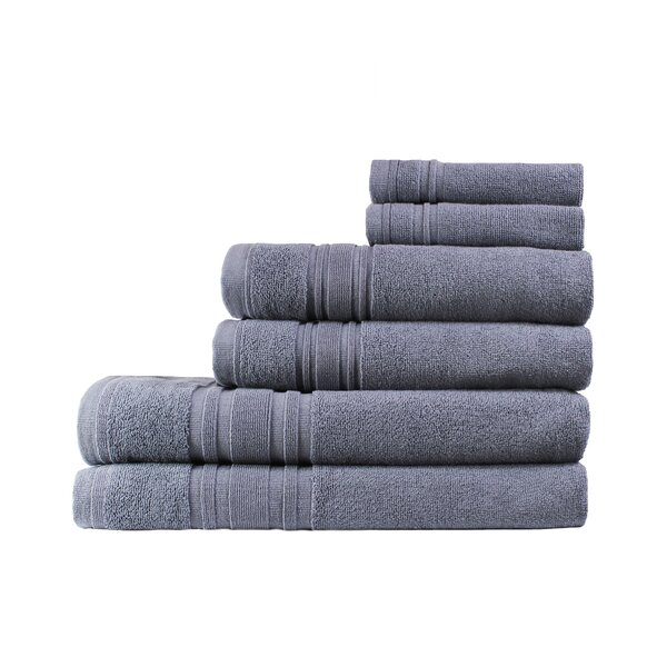 Ensemble 6 Piece Turkish Cotton Towel Set by Melan