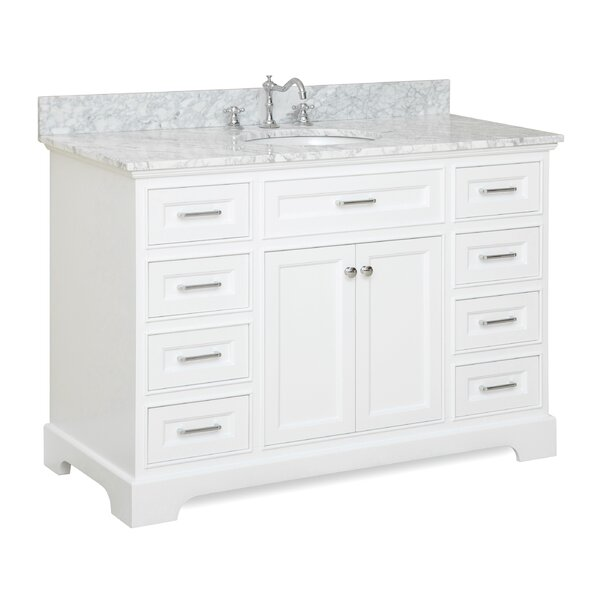 Aria 48 Single Bathroom Vanity Set by Kitchen Bath Collection