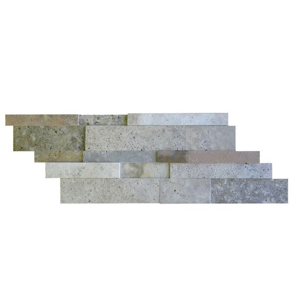Honed Random Sized Natural Stone Mosaic Tile in Fantastico by QDI Surfaces