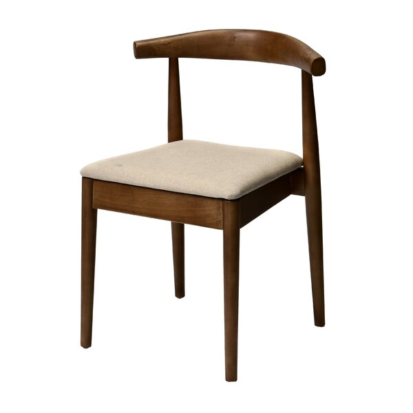 Bernardi Solid Wood Dining Chair by George Oliver