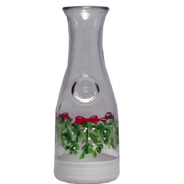 Drouin Mistletoe Carafe by The Holiday Aisle