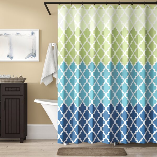 Nakasi Flat Shower Curtain by Ebern Designs