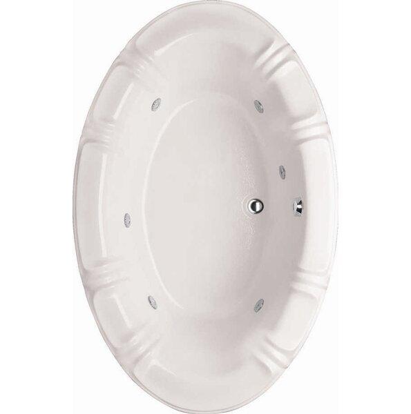 Designer Alyssa 78 x 48 Whirlpool Bathtub by Hydro Systems