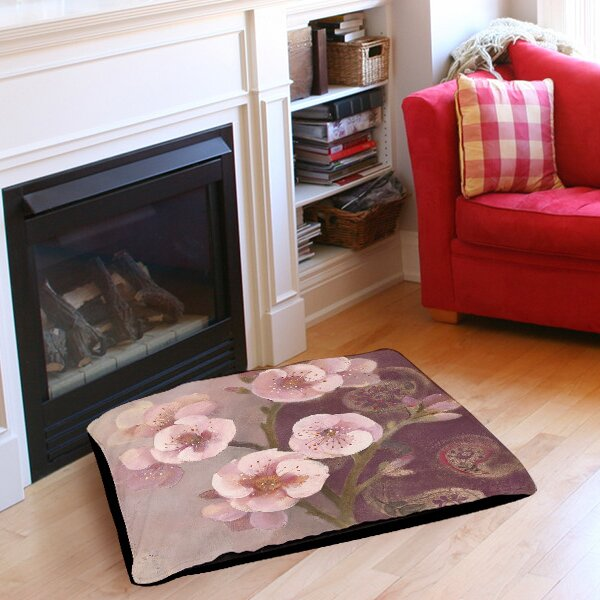 Gypsy Blossom 2 Pet Bed by Manual Woodworkers & Weavers
