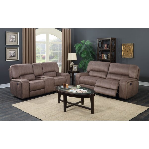 Farrier 2 Piece Reclining Living Room Set by Latitude Run
