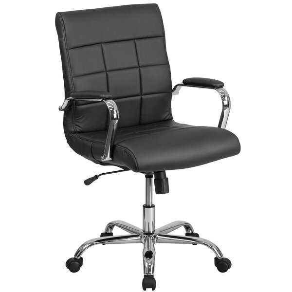 Yarber Mid-Back Desk Chair by Symple Stuff