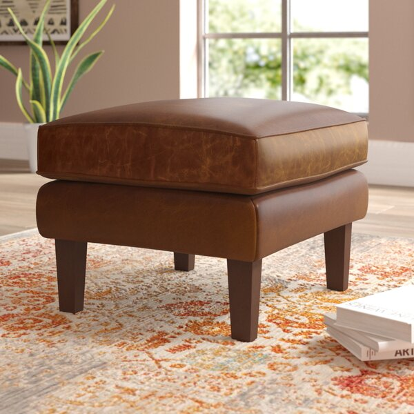 Review Tinney Leather Ottoman